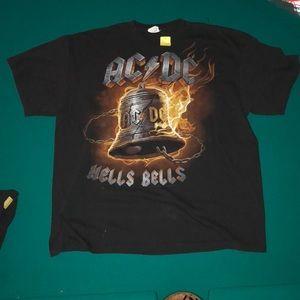 AC/DC hell's bells vintage tee